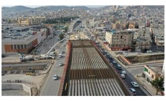 Karakoyunlu Köprülü Kavşağı ve Viyadüğü hızla ilerliyor