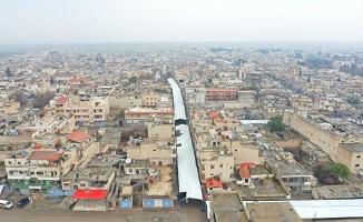 Rasulayn'da YPG/PKK'nın barakaları kaldırılıyor