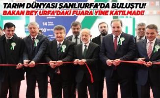 Şanlıurfa 7. Tarım Fuarı Açıldı