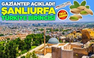 Şanlıurfa Türkiye Birincisi Oldu