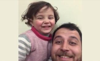 Suriyeli minik Selva'nın savaş oyunu