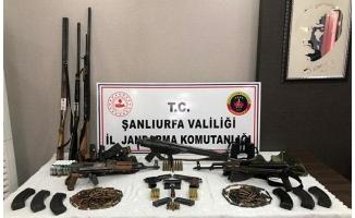 Viranşehir'de silah kaçakçılığı operasyonu