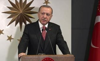 Erdoğan: Biz bize yeteriz Türkiye'm