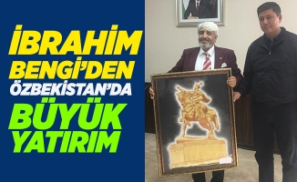 İbrahim Bengi'ye Özbekistan'da yoğun ilgi