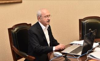 Kılıçdaroğlu başkanlarla 'Kovid-19' toplantısı yaptı