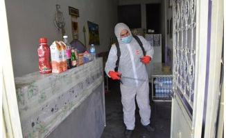 Siverek'te dezenfekte çalışmaları sürüyor