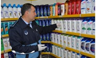 Zabıta, temizlik ürünlerinde fiyat kontrolü yaptı