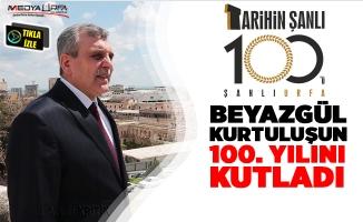 Beyazgül kurtuluşun 100. Yılını Kutladı