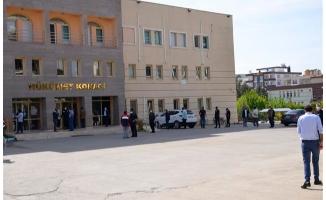 Halfeti'de seyahat izin belgesi yoğunluğu