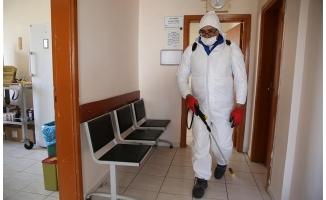 Aile sağlığı merkezleri dezenfekte ediliyor