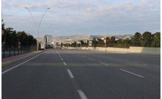 Şanlıurfa'da yasağın ardından sokaklar boşaldı