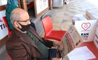 Şanlıurfa'da kurtuluş gazetesi dağıtıldı