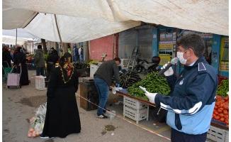 Siverek'te zabıtadan esnaf ve vatandaşlara uyarı