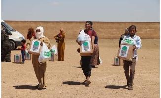 Barış Pınarı bölgesine 3 tır insani yardım