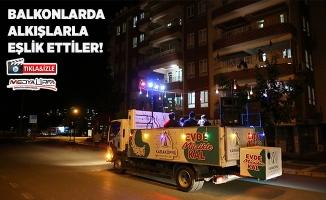 Karaköprü'de vatandaşlara mobil konser