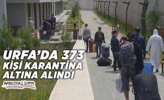 Urfa'da 14 gün misafir edilecekler