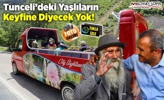 Vali Sonel'den Yaşlılara Munzur Vadisi Turu