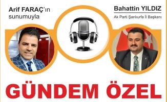 Başkan Yıldız Arif Faraç'ın konuğu olacak