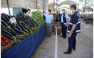 Haliliye'de salgın denetimleri sürüyor