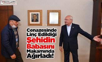 Kılıçdaroğlu şehit Kırıkçı'nın babasıyla görüştü