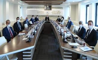 Urfa heyeti Bakan Karaismailoğlu ile görüştü