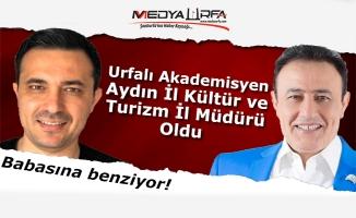 Urfalı akademisyene Aydın'da önemli görev