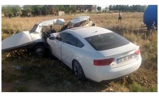 Ziraat Odası Başkanı Trafik Kazası Geçirdi