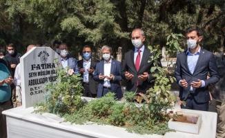 Bakan Gül'den Urfalı merhum Yüksel'in kabrine ziyaret