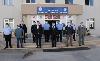 Başsavcı Öztoprak, personele moral ziyareti