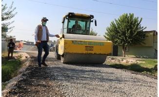 Haliliye kırsalında yollar asfaltlanmaya devam ediyor