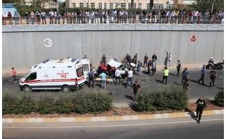 Şanlıurfa'da iki otomobil çarpıştı: 2 ölü 3 yaralı