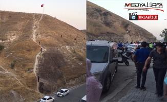 Türk bayrağını indirmeye çalışan kişi gözaltına alındı
