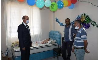Akçakale'de hasta bebeğe yardım eli