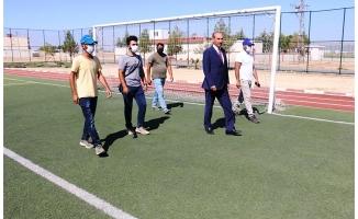 Akçakale'deki dev spor projesi yapımı sürüyor