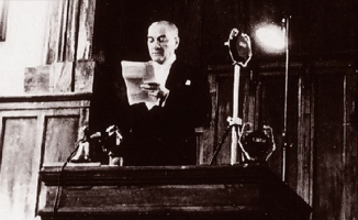Atatürk'ün Cumhurbaşkanı unvanıyla ilk konuşması