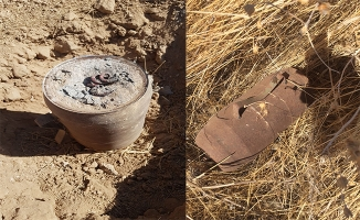 Barış Pınarında 10 kilogram patlayıcı ele geçirildi