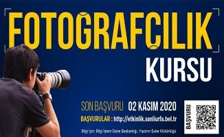 Büyükşehir Belediyesinden dijital fotoğrafçılık kursu