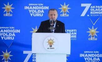 """Erdoğan: """"Bundan daha büyük bir itibar tanımıyorum"""""""