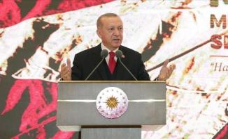 Erdoğan: En büyük gücümüz tarihi mirasımız