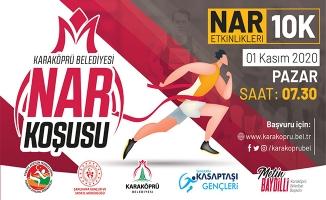 Karaköprü'de nar koşusu düzenlenecek