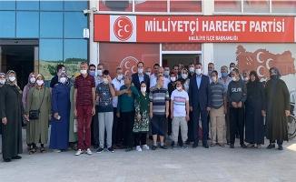 MHP Teşkilatı Engellilerle Buluştu