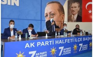 Ökkeş Aybek, AK Parti Halfeti İlçe Başkanı oldu