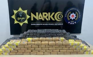 Şanlıurfa'da 258 kilogram eroin ele geçirildi