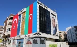 Şanlıurfa AK Parti'den Azerbaycan'a destek