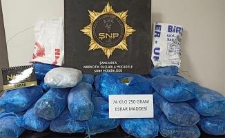 Urfa'da uyuşturucu operasyonu: 16 kişi tutuklandı