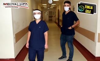 Urfa'daki doktorlar Covid-19 ile savaşı anlatıyor