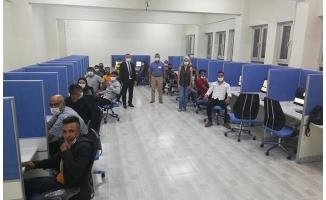 Viranşehir'de e-sınav merkezi hizmete açıldı