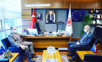 Ankara'da önemli ziyaret