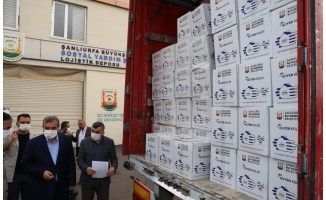 Büyükşehir'den depremzedelere yardım eli