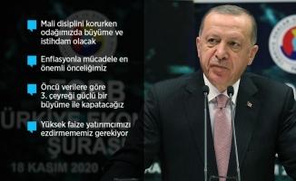 Erdoğan: Şahlanış dönemine giriyoruz
